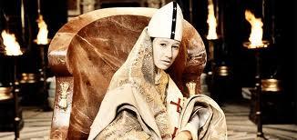 Den kvindelige pave. Fra filmen The mysterie of a Pope, 2009.