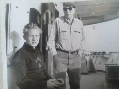 Et foto af en meget ung Bent Vesterberg.