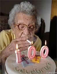 Hvis man skulle være så heldig, at bive 100 år, ville man da godt fejre den sådan her...