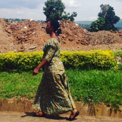 Et sted i Kigali, Rwanda.