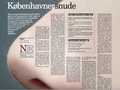 Københavnersnude – Et duftportræt af København