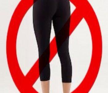 Leggings forbud – nu!